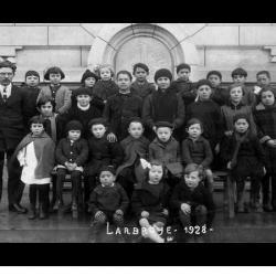 Photo de classe de 1928