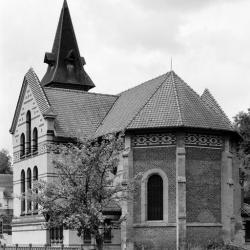 Eglise de Larbroye de dos